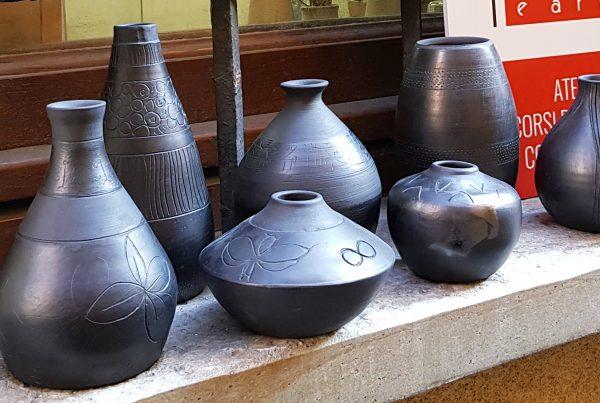 Terre Ceramica e Arte - Vasi in bucchero