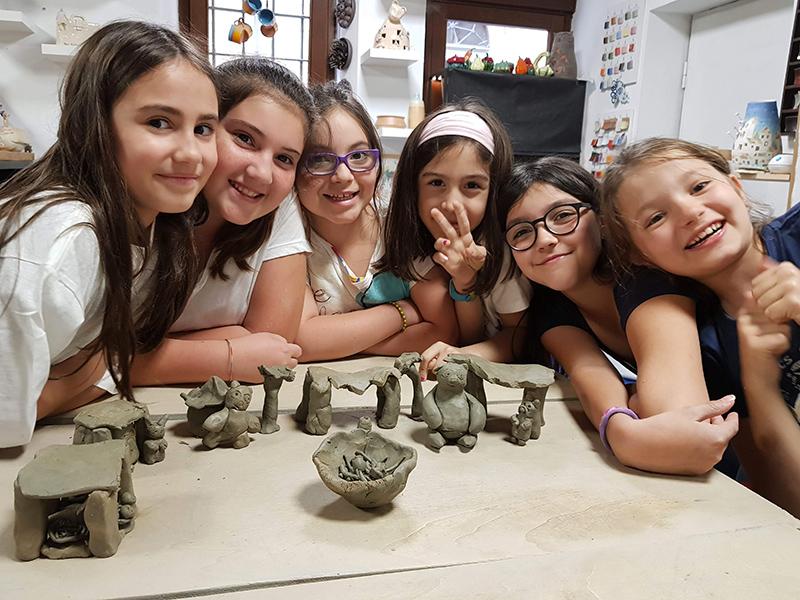 Terre Ceramica e Arte - Corsi Bambini