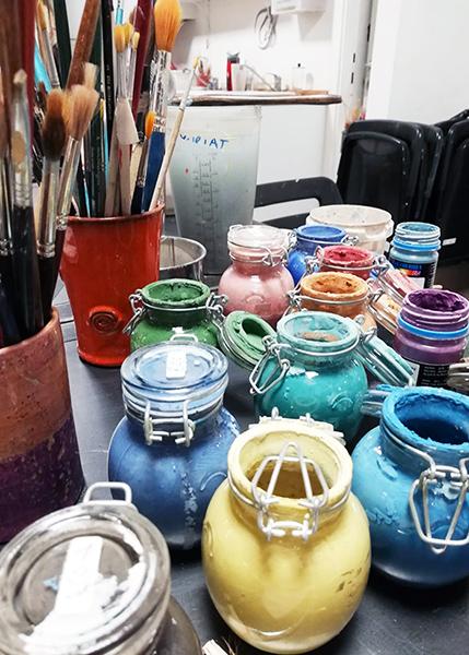 Terre Ceramica e Arte - Decoro