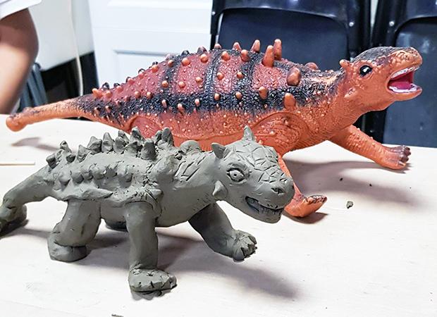 Terre Ceramica e Arte - Dinosauro