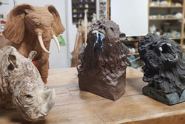 Terre Ceramica e Arte - Workshop modellato animali