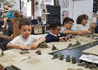 Terre Ceramica e Arte - Modellato Corsi Bambini