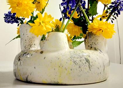 Terre Ceramica e Arte - Elena D'Oria - Vaso fiori